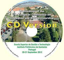 <!--089-->ECIE 2012 Proceedongs of the  7th European Conference on Innovation and Entrepreneurship
