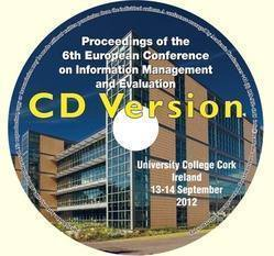 <!--090-->ECIME 2012 Proceedings of the 6th European Conference on Information Management and Evaluation, Ireland