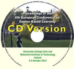 <!--087-->ECGBL 2012 proceedings of the 6th European Conference on Games Based Learning Cork, Ireland CD version