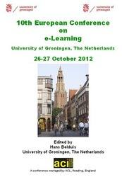 <!--085-->ECEL 2012 Proceedings of the 11th European Conference on eLearning, Groningen, The Netherlands PRINT version