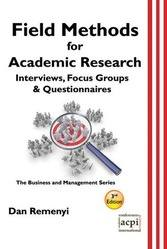 <!--103-->Field Methods for Academic Research 3rd Edition