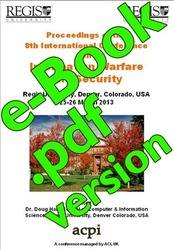 <!--182-->ICIW 2013 8th International Conference on Information Warfare and Security