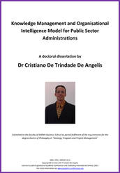 <!--080-->A KM Organisational Intelligence Model for Public Sector Administrations by Dr Cristiano Trindade De Angelis