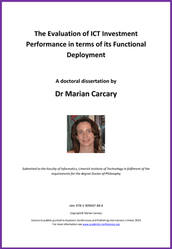<!--020-->The Evaluation of ICT Investment Performance in terms of its Functional Deployment by Dr Marian Carcary