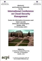 <!--159-->ICCSM 2013 International Conference on Cloud Security Management PRINT version