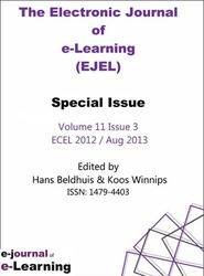 EJEL Electronic Journal of eLearning Voulume 11 Issue 3 PRINT version