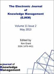 EJKM Electronic Journal of Knowledge Management Volume 11 Issue 2 PRINT version