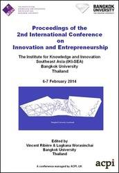 <!--100-->ICIE 2014 2nd International Conference on Innovation and Entrepreneurship PRINT version
