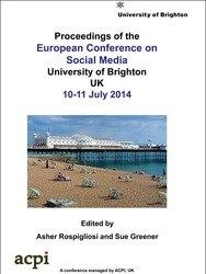 ECSM 2014  European Conference on Social Media ECSM 2014 Brighton UK PRINT version
