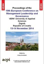 ECMLG 2014 10th European Conference on Management Leadership and Governance Zagreb, Croatia