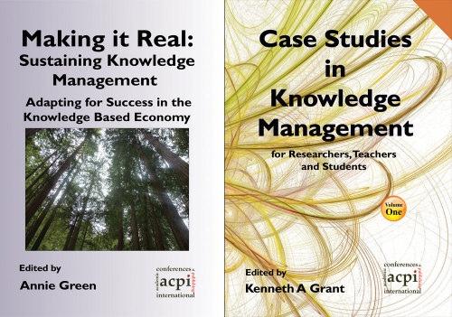 <!--020-->Bundle: Knowledge Management -Making it Real and Case Studies in Knowledge Management