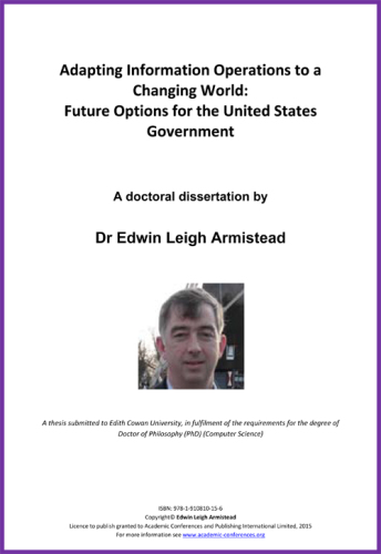 <!--200-->Adapting Information Operations to a Changing World: Future Options for the United States Government