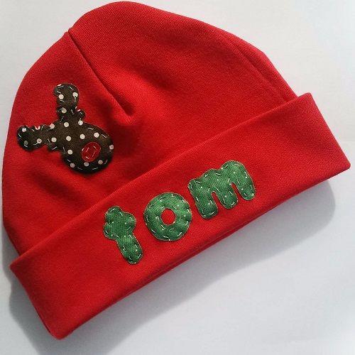 Personalised Reindeer Hat