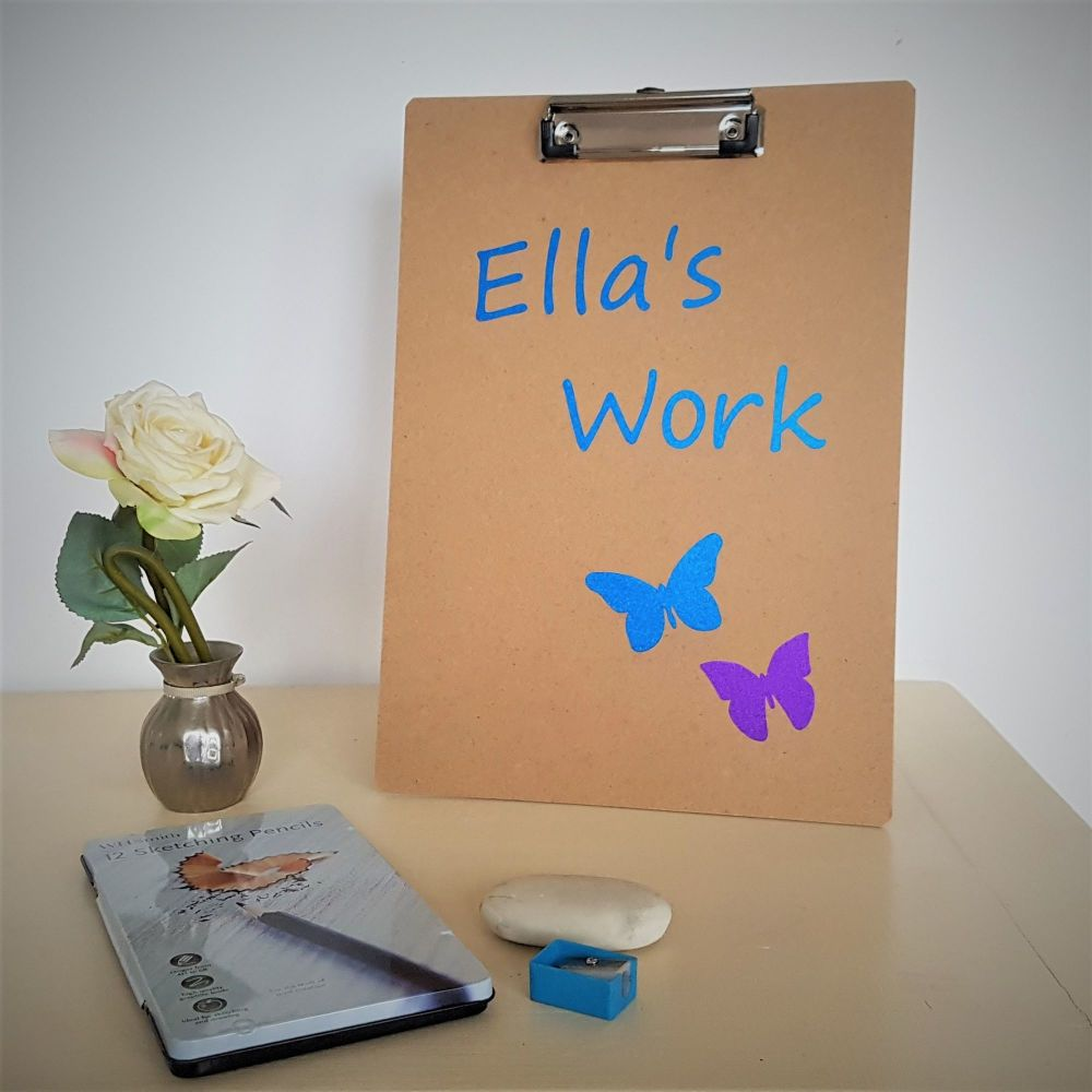 Children's Personalised Clipboard