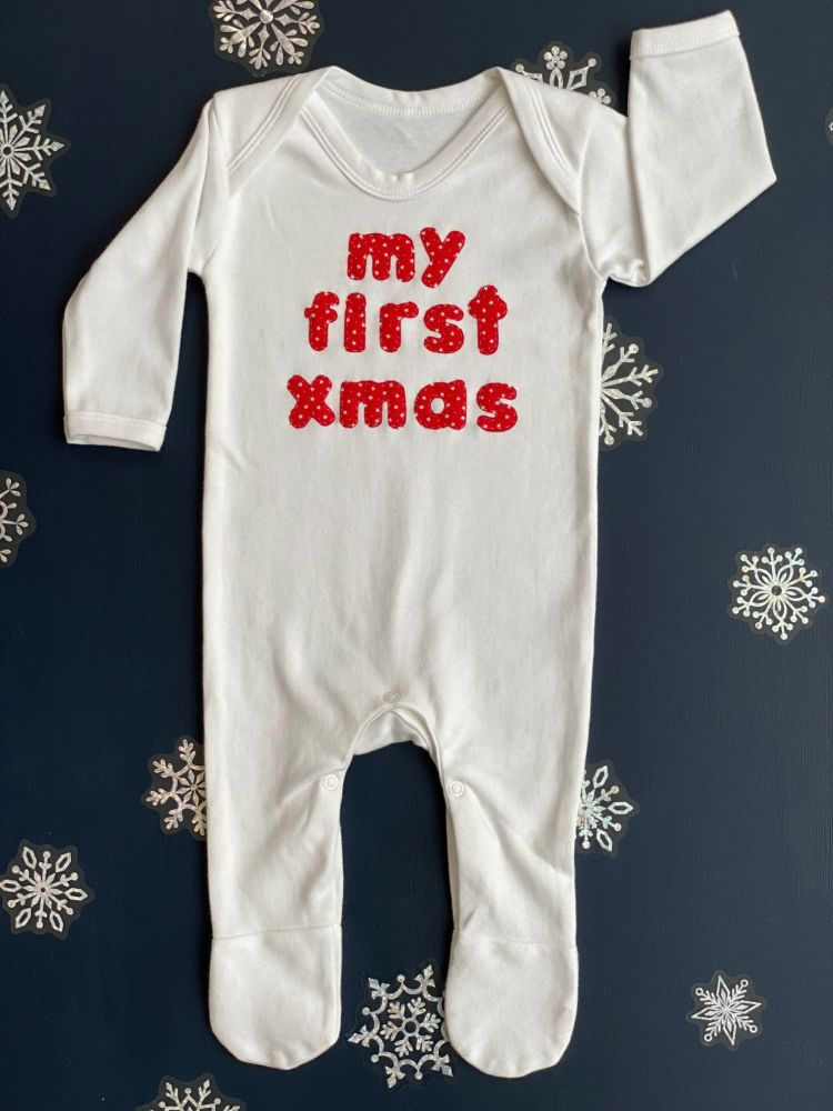 My First Xmas Rompersuit