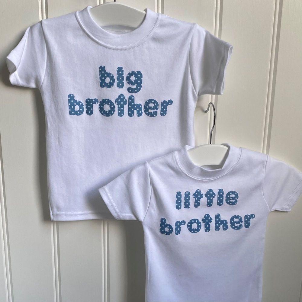Big and Little siblings T-shirt set