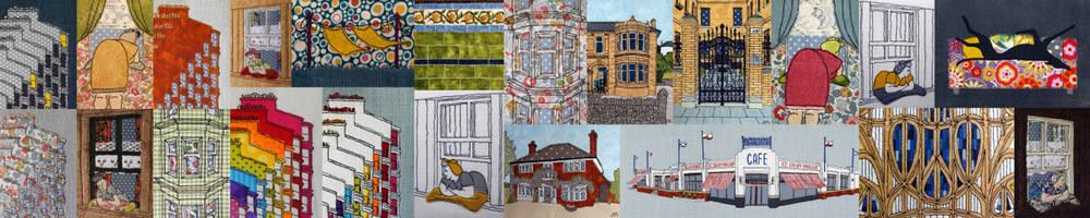 Roslyn Mitchell - Textile Artist, site logo.