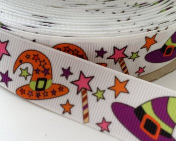 22mm Halloween Witches Hat Ribbon
