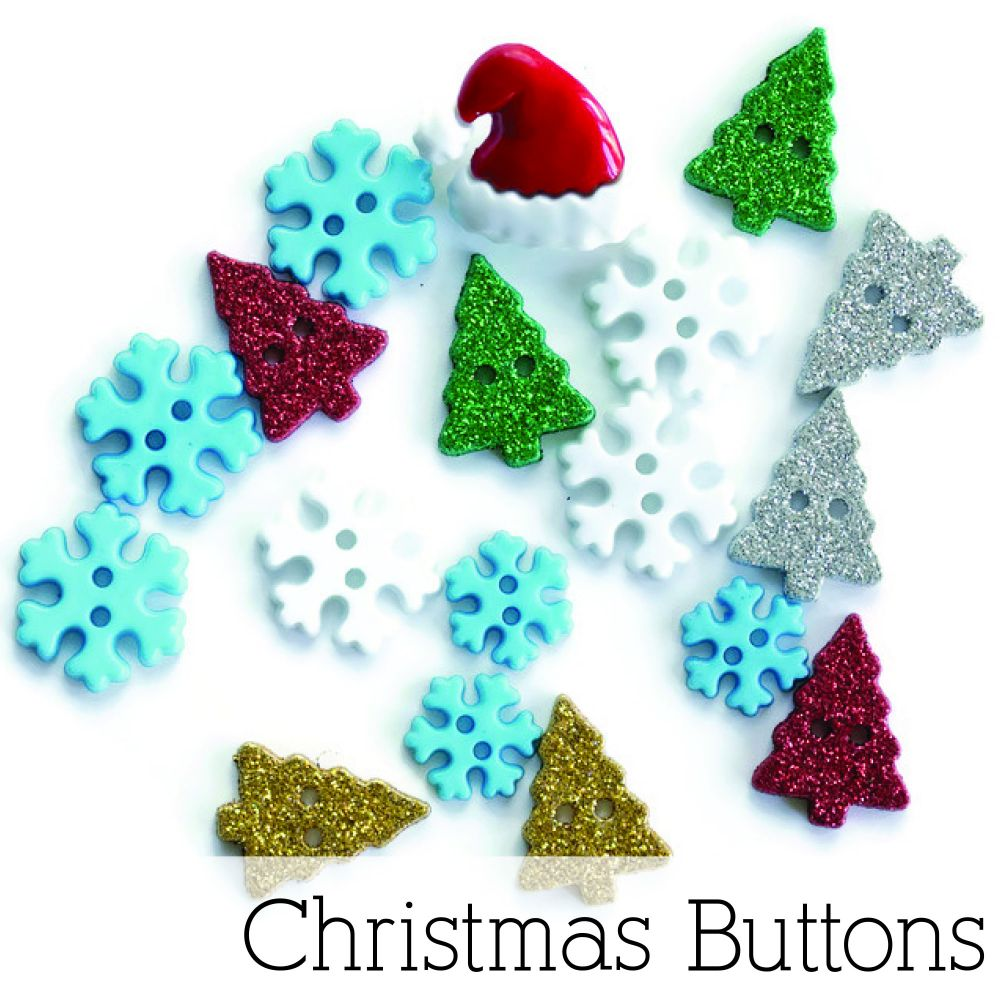 Christmas Buttons