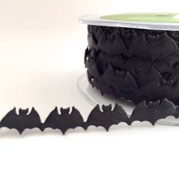 Half Metre Satin Cut Out - Bats