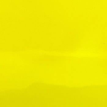 Pretty Patent Faux Leather A4 Sheet - Neon Yellow