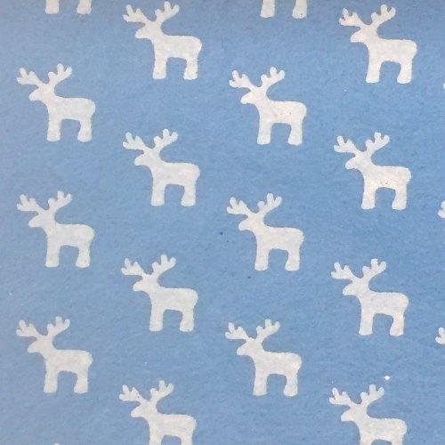 Wool Blend Felt - Christmas Patterns - Sheet - Reindeer
