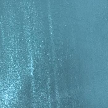 Lustre Metallic Faux Leather - Frozen Blue