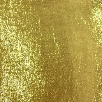 Lustre Metallic Faux Leather - Gold