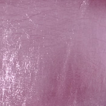 Metallic Faux Leather - Light Pink