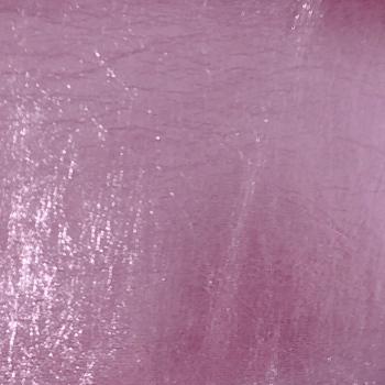 Lustre Metallic Faux Leather - Light Pink