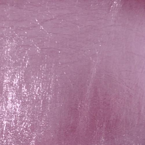 Metallic Faux Leather - Sheet - Light Pink