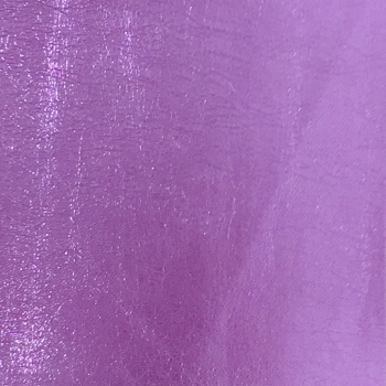 Metallic Faux Leather - Lilac