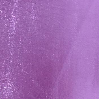 Lustre Metallic Faux Leather - Lilac