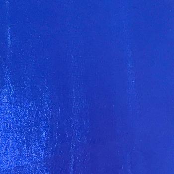 Lustre Metallic Faux Leather - Navy Blue