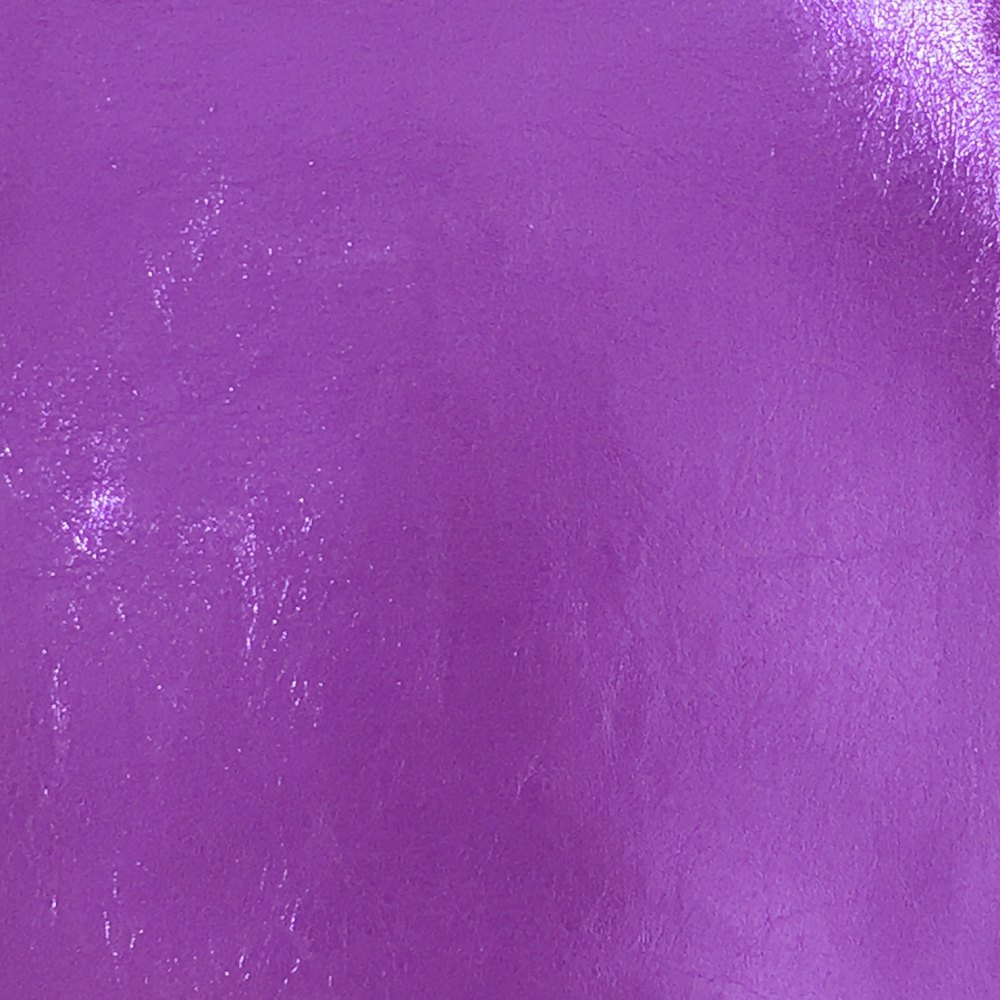 Metallic Faux Leather - Sheet - Purple