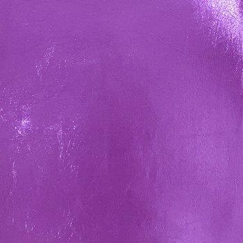 Lustre Metallic Faux Leather - Purple
