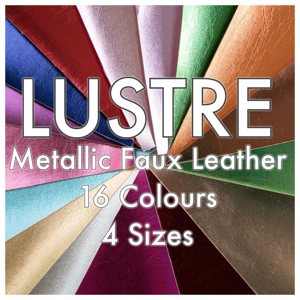 Metallic Faux Leather