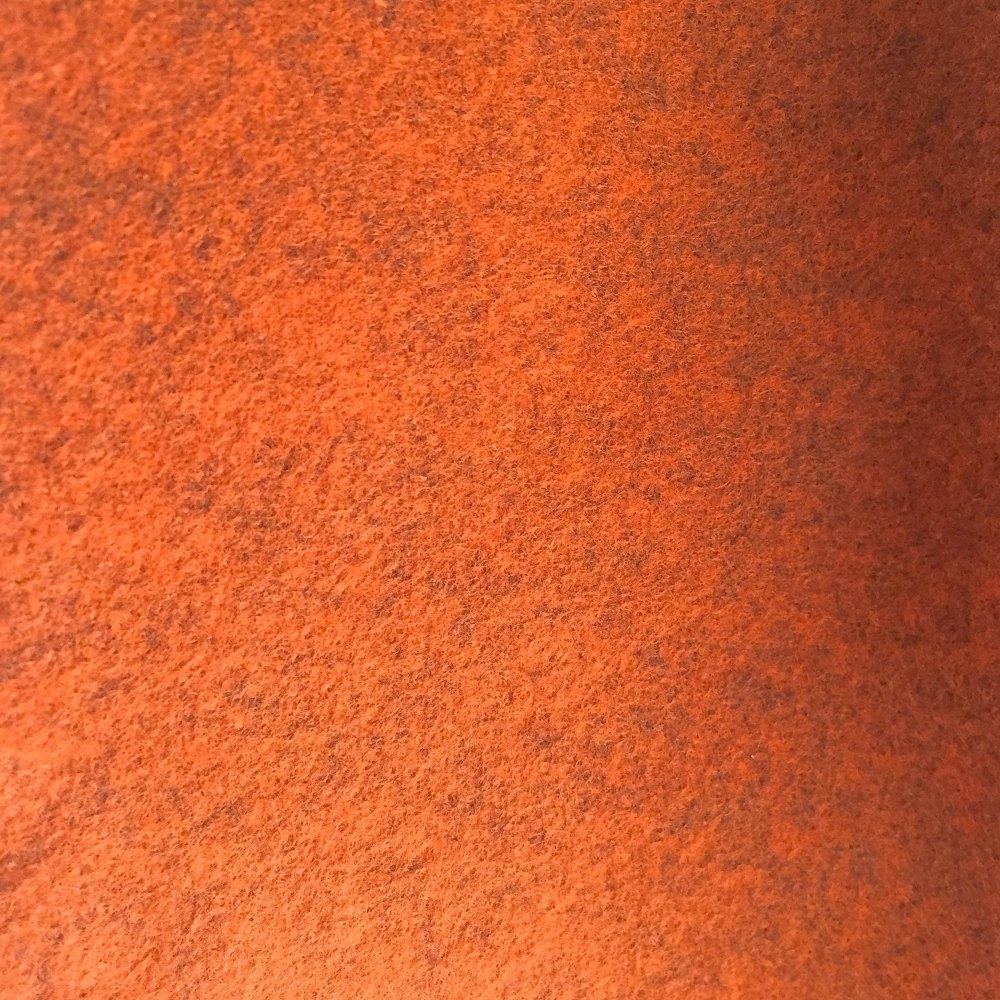 Heathered Felt - Sheets - Burnt Orange