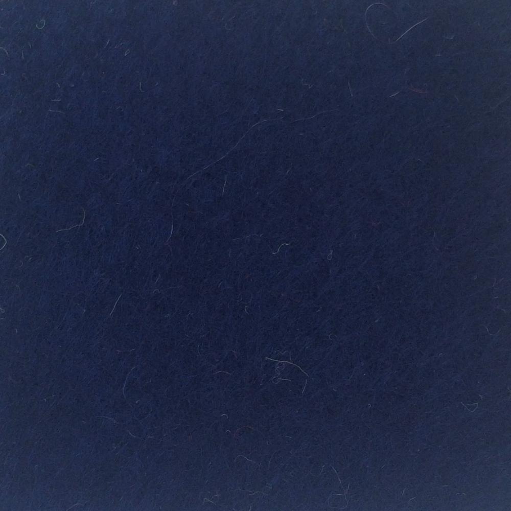 Wool Blend Felt - Midnight Blue