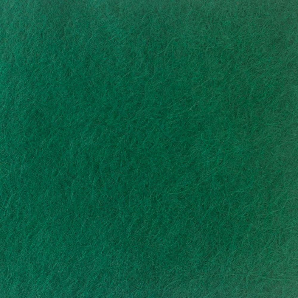 Wool Blend Felt - Dark Green