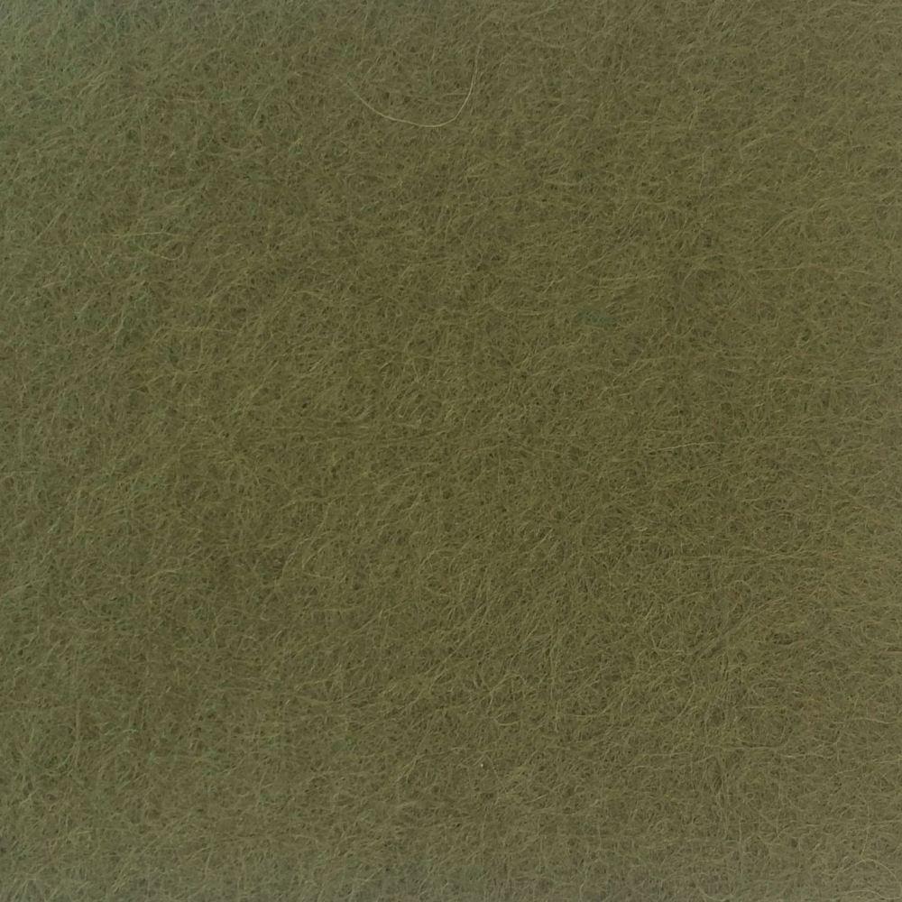 Wool Blend Felt - Moss