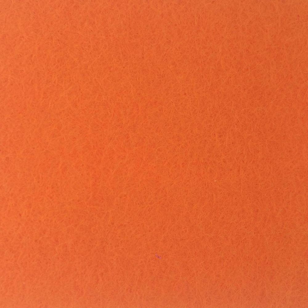 Wool Blend Felt - Orange