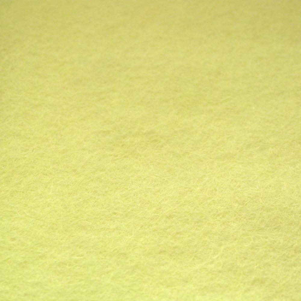 Wool Blend Felt - Pastel Yellow