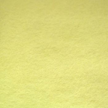 Creative Felt Wool Blend Felt - Pastel Yellow
