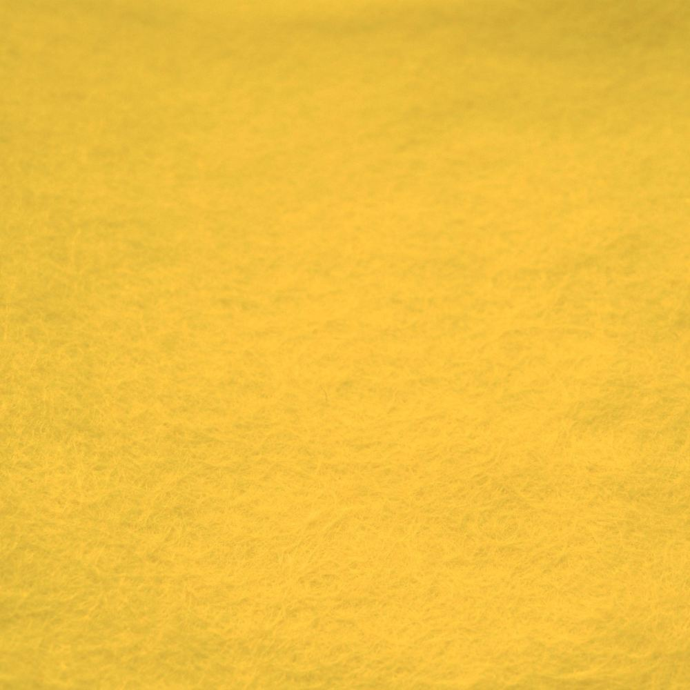 Wool Blend Felt - Yellow
