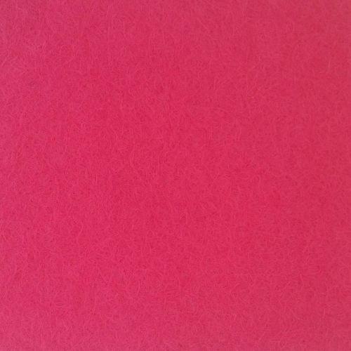 Wool Blend Felt - Bright Pink