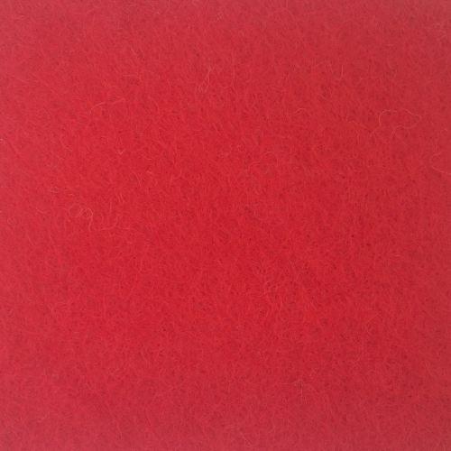 Wool Blend Felt - Red