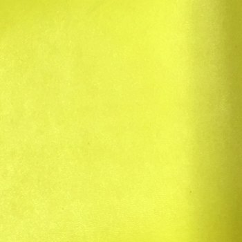 Supreme Plain Faux Leather A4 Sheet - Neon Yellow