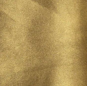 Plain Faux Leather -  Gold
