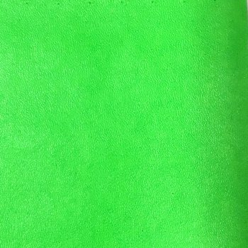 Supreme Plain Faux Leather A4 Sheet - Neon Lime